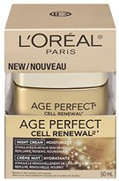 L'Oreal Age Perfect Cell Renewal Night Cream, 1.7 Ounce