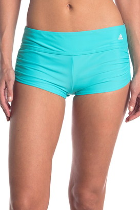 Adidas Swimwear Shirred Swim Shorts