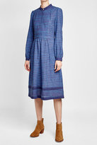 A.P.C. Printed Dress with Cotton and Linen
