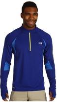 The North Face Impulse 1/4 Zip Pullover (Bolt Blue/Jake Blue) - Apparel