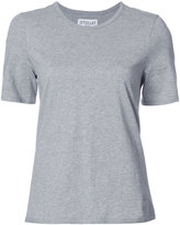 Derek Lam 10 Crosby Crossover Tee With Buttons