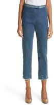 Rachel Comey Women's Fletcher Slim Straight Cropped Jeans