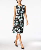 Charter Club Floral-Print Midi Dress, Created for Macy's