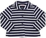Il Gufo Striped Cotton Sweat Jacket