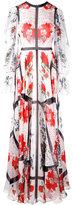 Alexander McQueen floral gown - women - Silk - 42
