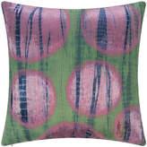 A By Amara A by AMARA - Multi Circle Print Cushion - Green/Pink - 45x45cm