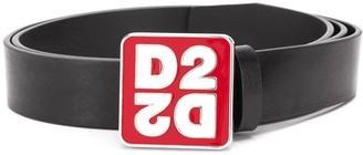 DSQUARED2 Square Logo Belt