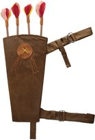 Mystery House Women's Quiver with Belt and Arrows