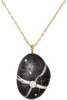 Cvc Stones Women's Fortunata Pendant Necklace-BLACK