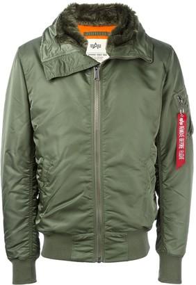 Alpha Industries Furred Collar Parka Coat