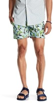 Parke & Ronen Print Stretch Holler Short