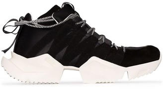 Unravel Project Drawstring Low-Top Sneakers