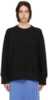 MM6 MAISON MARGIELA Black and Grey Back Sweatshirt