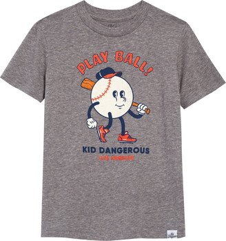 Kid Dangerous Play Ball Graphic Tee
