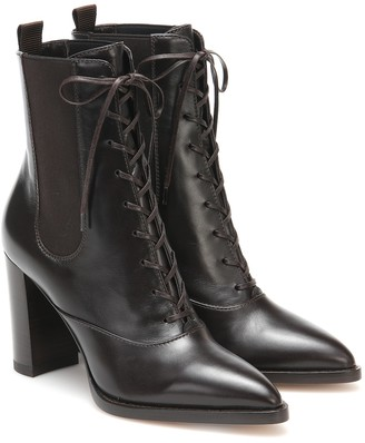 Gianvito Rossi Dresda leather ankle boots