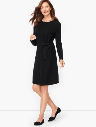 Talbots Side Tie Shimmer Shift Dress