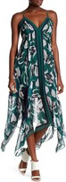 BCBGMAXAZRIA Isabela Handkerchief Dress