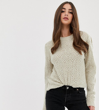 Asos DESIGN Tall chunky jumper with stitch detail