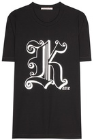 Christopher Kane Gothic K cotton T-shirt