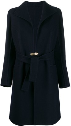 A.N.G.E.L.O. Vintage Cult 1960's Gibo clasp belted coat