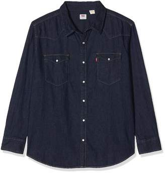 Levi's Men's Big Classic Western Button Down Shirt