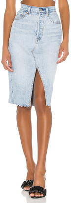 Levi's Deconstructed Midi Skirt. - size 23 (also