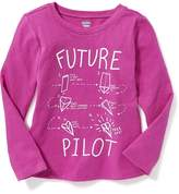 Old Navy Graphic Tee for Toddler Girls