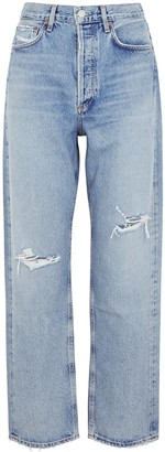 AGOLDE 90s Blue Wide-leg Jeans