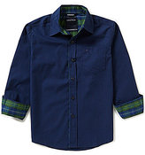 Nautica Big Boys 8-20 Woven Long-Sleeve Shirt