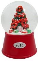 Threshold Christmas Tree Snowglobe - Red