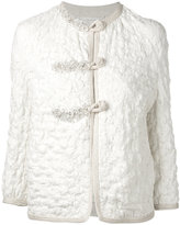 Ermanno Scervino textured jacket - women - Cotton/Acrylic/Polyamide/Viscose - 44