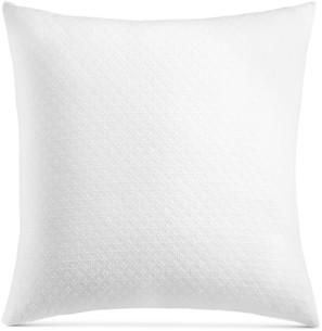 Charter Club Damask Designs Diamond Dot Cotton 300-Thread Count European Sham, Created for Macy's Bedding