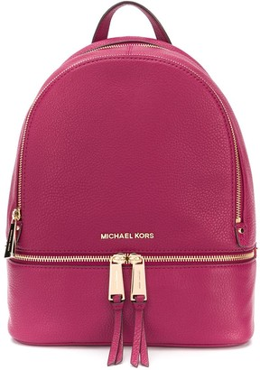 MICHAEL Michael Kors logo plaque backpack