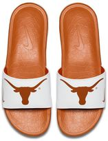Nike Men's Texas Longhorns Benassi Slide Sandals