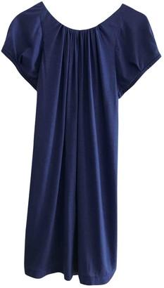 Erotokritos Blue Cotton Dress for Women