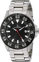 Le Château Men's 7075mssmet_blk Dynamo Automatic See-Thru Watch