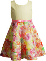 Youngland Young Land Sleeveless Skater Dress - Toddler Girls