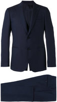 Lardini peaked lapel suit - men - Cupro/Viscose/Wool - 46