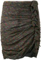 Etoile Isabel Marant bunched mini skirt - women - Viscose - 34