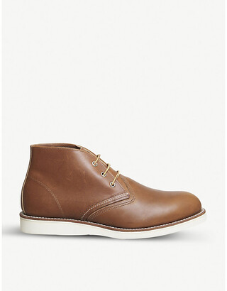 Red Wing Shoes Work Chukka leather boots