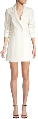 Jay Godfrey Ace Mini Tuxedo Dress