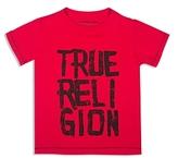 True Religion Boys' Chalk Letter Logo Tee - Little Kid