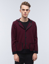 Marc Jacobs Stripe Cardigan