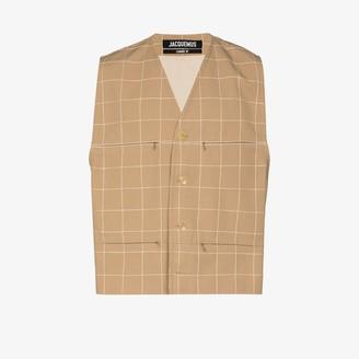 Jacquemus Le Gilet button-up waistcoat