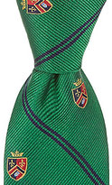 "Class Club 50"" Collegiate Striped Tie"