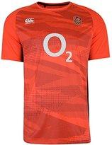 Canterbury of New Zealand England Rugby RFU Superlight Poly Tee - Spark