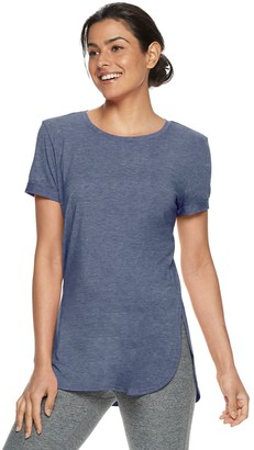 Tek Gear Women's Roll-Sleeve Tee