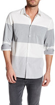 Micros Long Sleeve Patch Pocket Woven Shirt