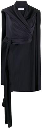 J.W.Anderson Cape-Style Wrap Blouse