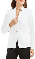 Vince Camuto One Button Notch Collar Blazer